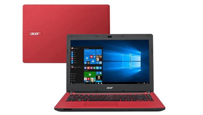Notebook com Windows 10 e tela de 14 polegadas tem preço econômico (Foto: Divulgação/Acer)