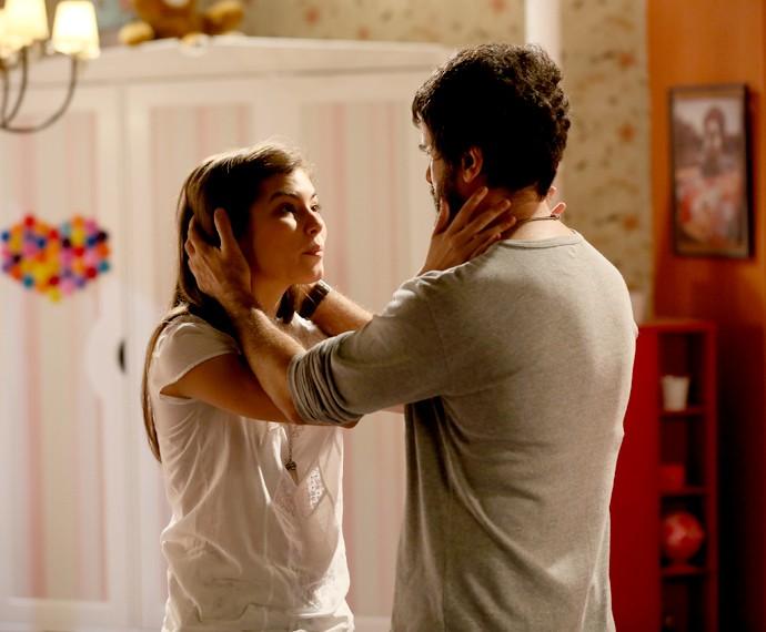 Bianca diz pra Gael que confia em Duca (Foto: Isabella Pinheiro/Gshow)