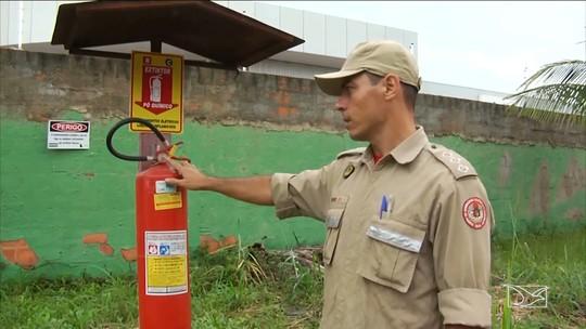 Corpo de Bombeiros divulga balanço de número de incêndio no MA