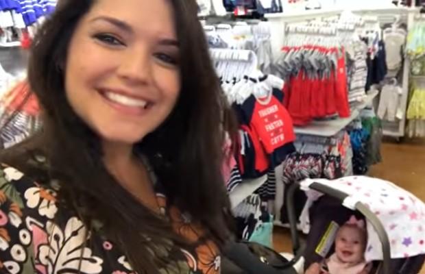 Thais Fersoza e a filha, Melinda (Foto: Reprodução/Youtube)