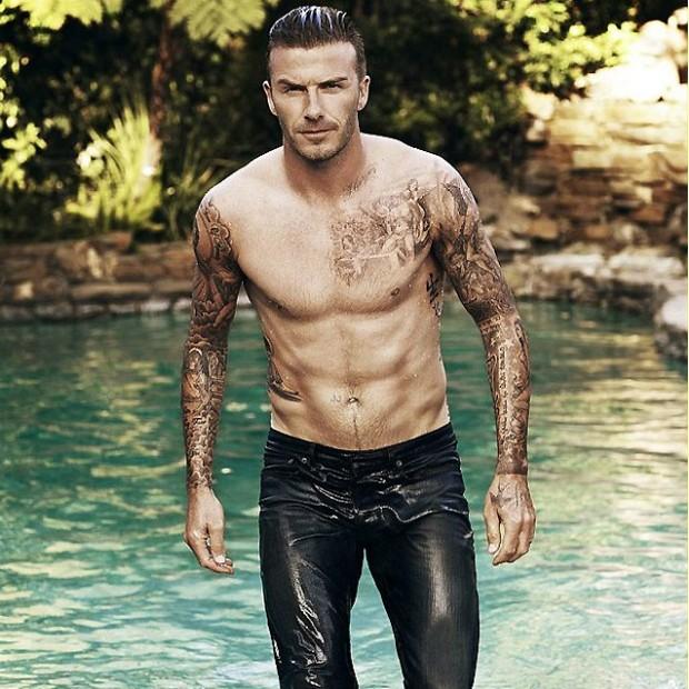 David Beckham (Foto: Reprodução)