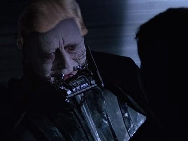 Darth Vader sem o capacete e com a peruca de Donald Trump (Foto: Reprodução)
