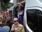 Carnaval começa cedo em Salvador com Carla Perez puxando trio