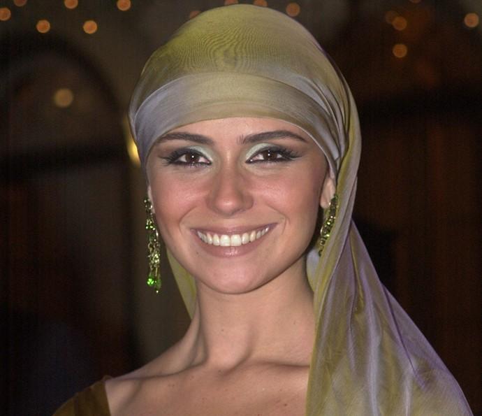 Em 2002, Giovanna ganhou o Melhores do Ano como Melhor Atriz pelo papel em O Clone (Foto: Cedoc/TV Globo)