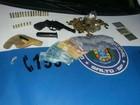 Grupo suspeito de roubo foge pelo telhado e um é detido em Salto