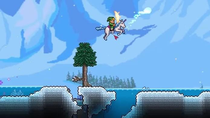 Além de rápido, o Unicorn é uma montaria que pode dar saltos duplos (Foto: Reprodução/Youtube)