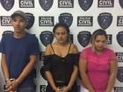 Polícia apreende 130 kg de maconha e prende três pessoas em São Luís