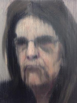 Retrato de Graça Foster, ex-presidente da Petrobras, pintado por Gabriel Giucci. (Foto: Gabriel Giucci/ Arquivo pessoal)