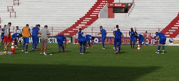 náutico treino (Foto: Lula Moraes / GloboEsporte.com)