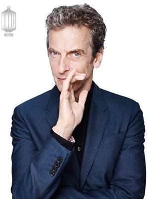 Peter Capaldi na foto oficial divulgada pela BBC em sua apresentação como o novo Doctor Who (Foto: Divulgação/BBC)