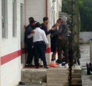 Agenor despedida Joinville (Foto:  Rômulo Balbinotti / RBS TV)