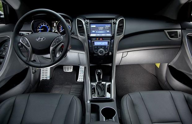 Interior do novo Hyundai i30 (Foto: Fabio Aro)