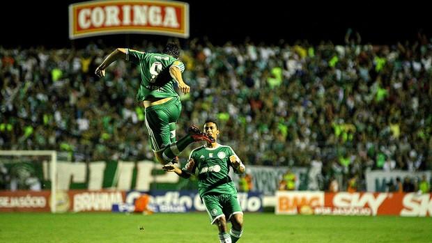 Kleber comemoração Palmeiras jogo ASA (Foto: Itawi Albuquerque / Futura Press)