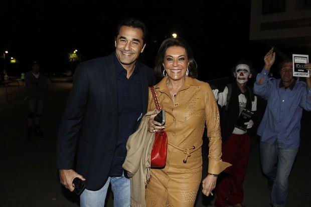 Luciano e Beth Szafir  (Foto: Celso Tavares / Ego)