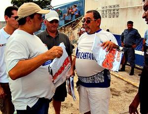 Parceria do Fast com a Prefeitura do Careiro Castanho (Foto: Divulgação/Fast Clube)