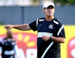 Muricy Ramalho treino Santos (Foto: Ivan Storti / Site Oficial do Santos)