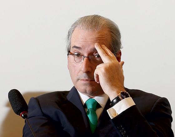 O presidente afastado da Câmara dos Deputados, Eduardo Cunha (Foto: Dida Sampaio/Estadão Conteúdo)