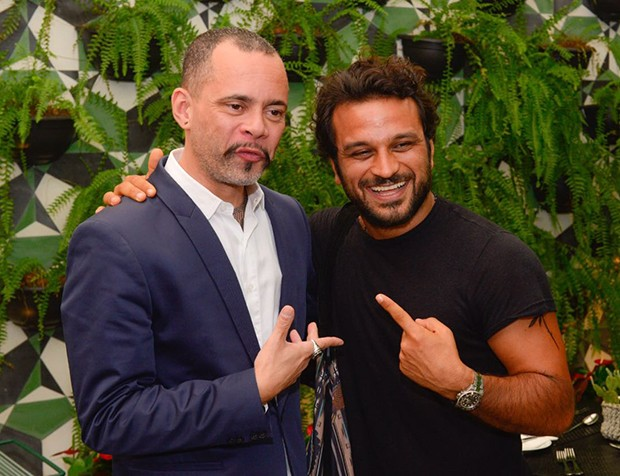 Ricardo Cruz, diretor de redação da GQ e Pedro Salomão, da Rádio Ibiza (Foto: Fábio Cordeiro/ Ed. Globo)