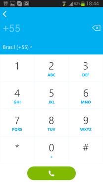 screenshot de Skype