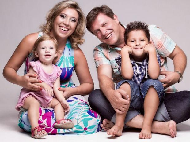 Família mora em Toledo, no oeste do Paraná (Foto: Arquivo Pessoal)
