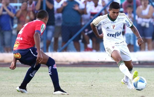 Dudu. Penapolense X Palmeiras (Foto: Célio Messias / Estadão Contéudo)