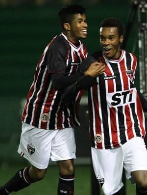 São Paulo Sub-17 Coritiba (Foto: São Paulo FC)