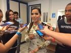 Anitta e Valesca Popozuda participam de gravação no Rio