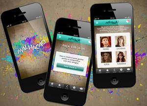 Baixe o app de Malhação no seu celular e se divirta durante a novela! (Foto: TV Globo / Malhação)