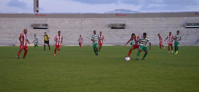 Auto Esporte x Miramar de Cabedelo, no Estádio Almeidão, pelo Campeonato Paraibano (Foto: Hévilla Wanderley / GloboEsporte.com)