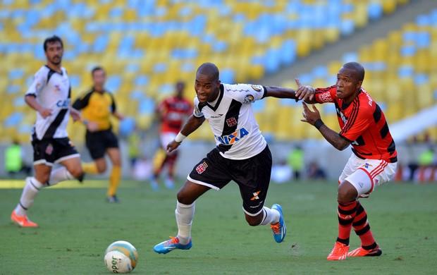 Edmilson e Samir Vasco x Flamengo (Foto: André Durão)
