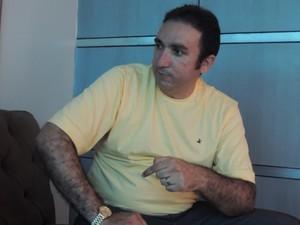 Myelk Dias conta que é o investidor número 1 do RN e um dos 5 do Brasil na Multiclick (Foto: Felipe Gibson/RN)