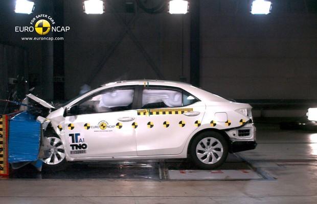 Toyota Corolla no Euro NCAP (Foto: Divulgação)