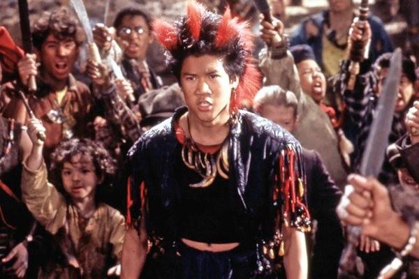 Dante Basco no papel de Rufio no filme estrelado por Robbin Williams  (Foto: Reprodução)