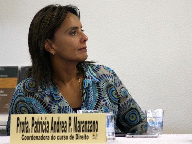 Patrícia Maranzanno, coordenadora do curso, também participará do debate (Foto: Divulgação)