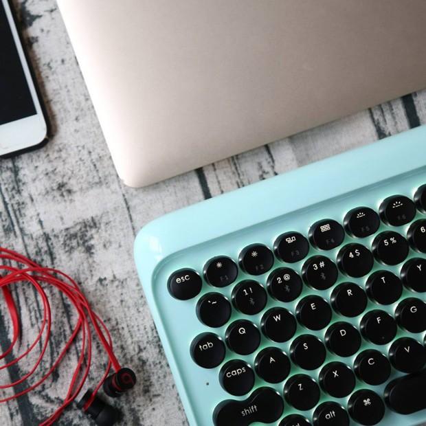 Start-up cria teclado de maquina de escrever para o computador (Foto: Divulgação)