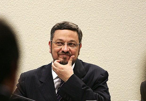 O ex-ministro Antonio Palocci (Foto: Evaristo Sa/Getty Images)