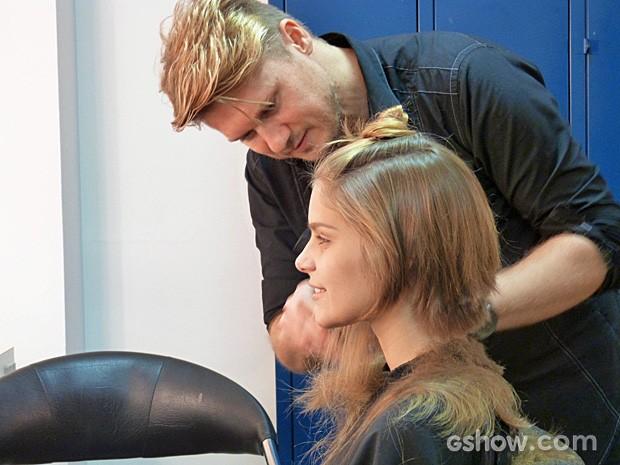 Veja como foi o processo da transformação de Isabella Santoni (Foto: Malhação / TV Globo)