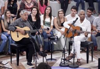 Caetano Veloso e Gilberto Gil (Foto: Celso Tavares / EGO)