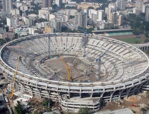 Obras Maracanã (Foto: Carlos Eduardo Cardoso / Ag. Estado)