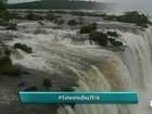 Ação lembra eleição das Cataratas do Iguaçu como 'nova maravilha natural'