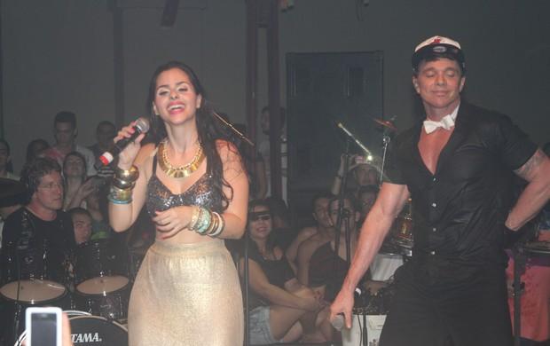 Mira Callado e Netinho (Foto: Magrão Fotógrafo/ Divulgação)