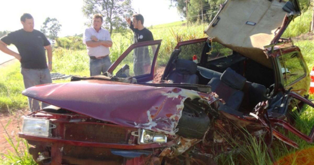 Homem morre em acidente na ERS-344, em Porto Mauá, RS - Globo.com