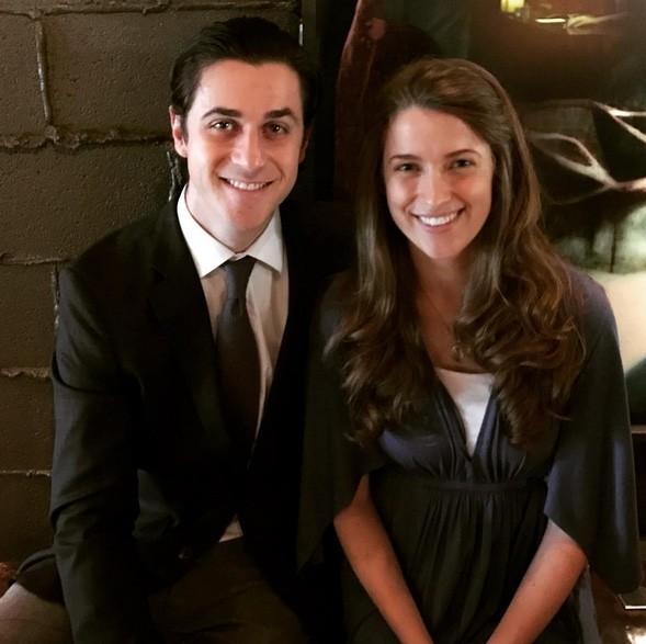 David Henrie e Maria Cahill (Foto: Instagram)