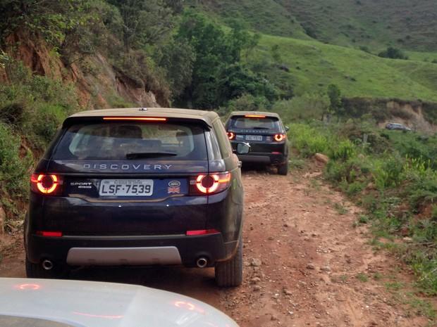 Land Rover Discovery Sport diesel (Foto: André Paixão/G1)