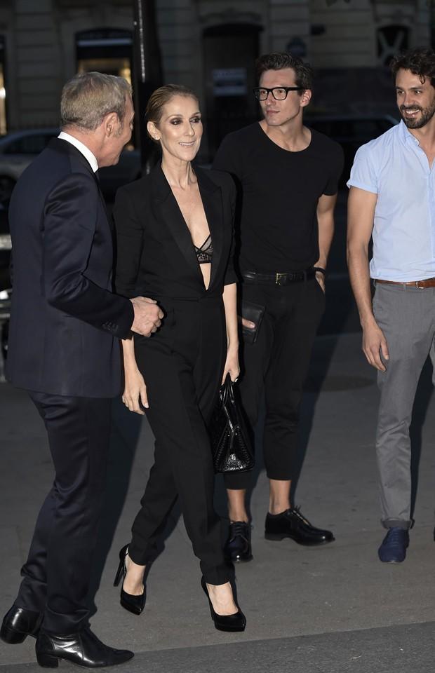Celine Dion e Pepe Munoz (Foto: AKM-GSI)