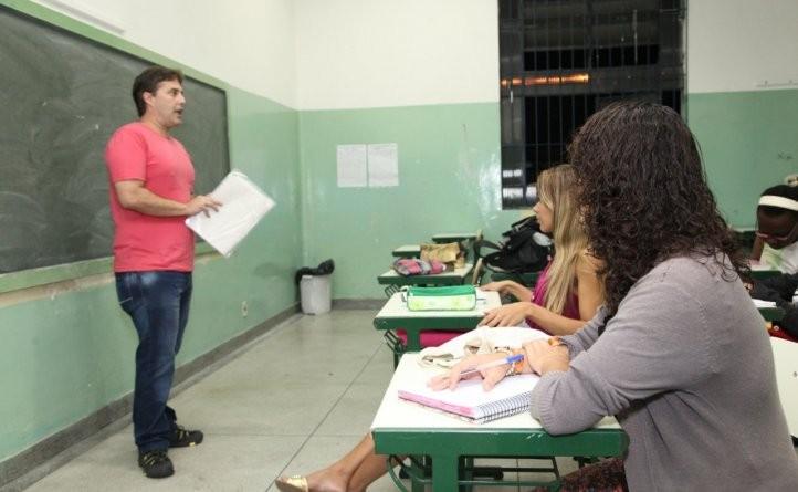 Programa Mestre-Aluno (Foto: Rogério Bomfim)