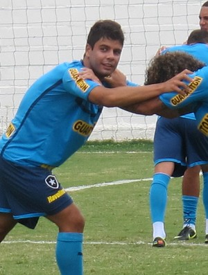 Henrique treino Botafogo (Foto: Thales Soares / Globoesporte.com)