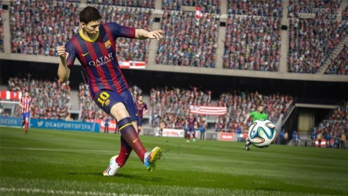 Fifa 15  game pode ser jogado de graça pelos assinantes EA Access (Foto  88c06015041a5