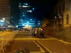 Manifestação de estudantes termina em tumulto com PM no Centro de SP