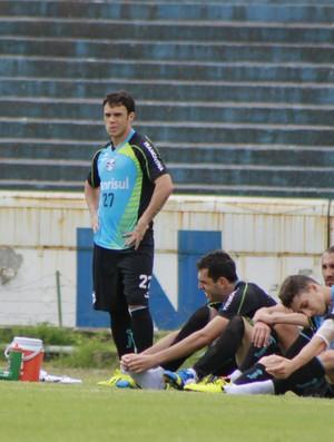 Treino do Grêmio (Foto: Diego Guichard)